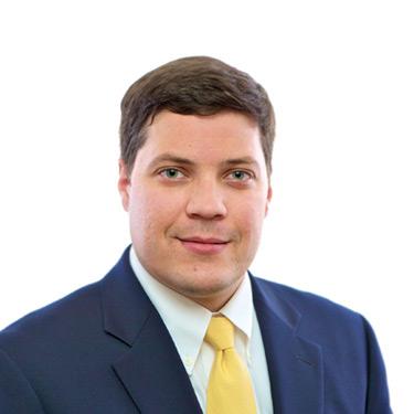Portrait photo of Daniel Duddy, a partner and attorney at Harman Claytor Corrigan Wellman Litigation Firm