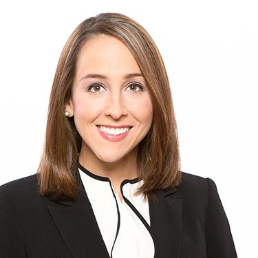 Portrait photo of Elizabeth Papoulakos, an associate attorney at Harman Claytor Corrigan Wellman Litigation Firm