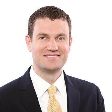 Portrait photo of Britton Wight, an associate attorney at Harman Claytor Corrigan Wellman Litigation Firm