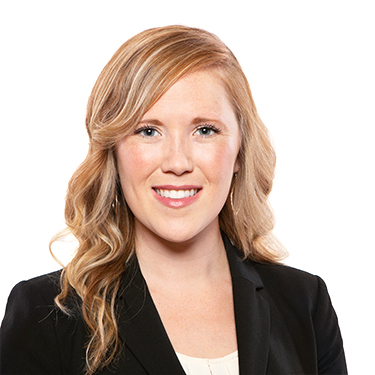 Portrait photo of Sarah Collie, an associate attorney at Harman Claytor Corrigan Wellman Litigation Firm