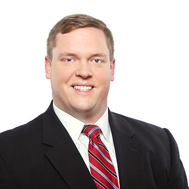 Portrait photo of Patrick O'Grady, an associate attorney at Harman Claytor Corrigan Wellman Litigation Firm