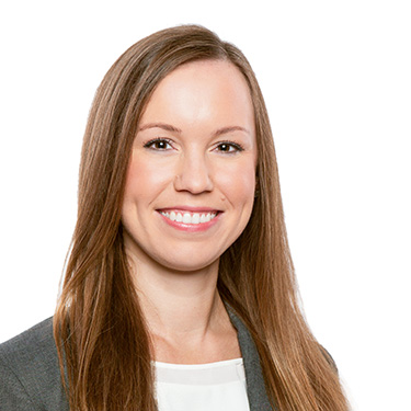 Portrait photo of Danielle Smith, an associate attorney at Harman Claytor Corrigan Wellman Litigation Firm