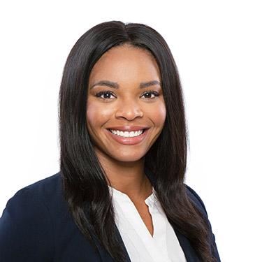 Professional headshot of legal associate, Briana Jackson.