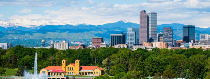 Denver, Colorado skyline.