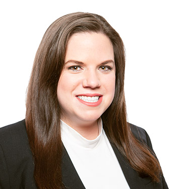 Portrait photo of Alexandra Sipes, an associate attorney at Harman Claytor Corrigan Wellman Litigation Firm
